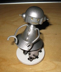 The Intrepid Girlbot